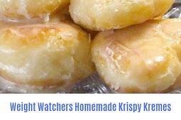 Weight Watchers Homemade Krispy Kremes