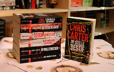 Book-Angel: Rezension - Die stille Bestie - Chris Carter