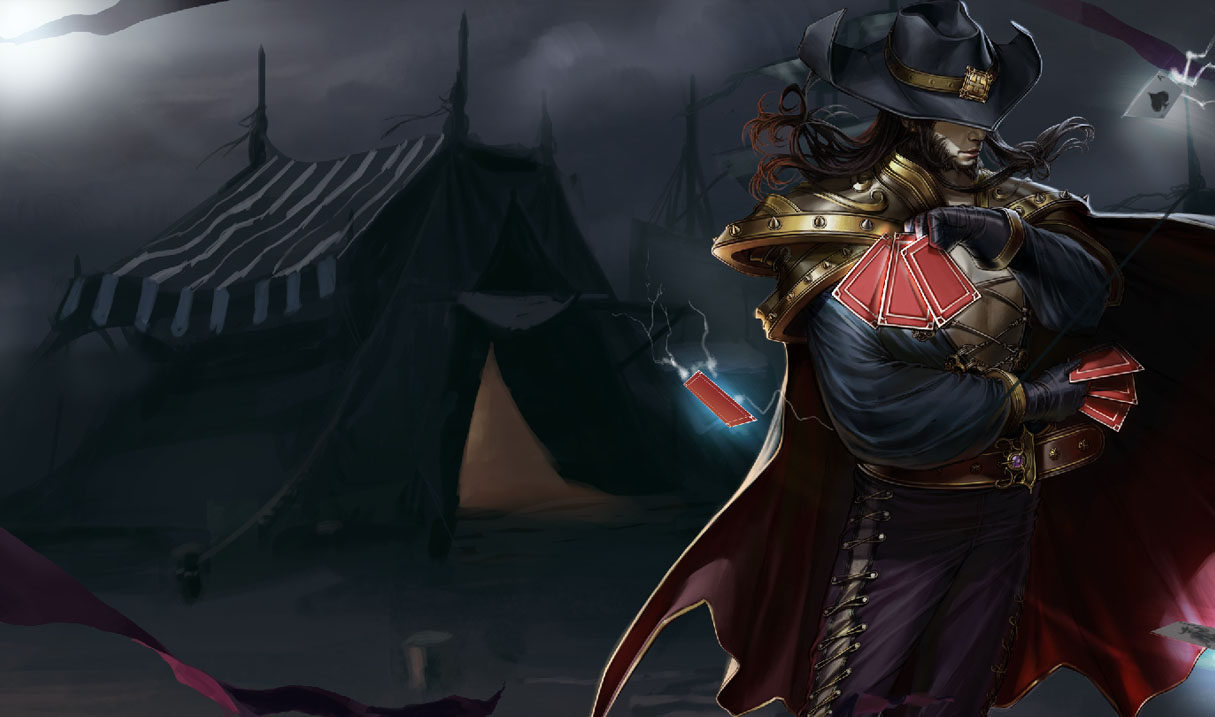 League Of Legends Twisted Fate Wallpapers