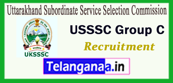 UKSSSC Uttarakhand Subordinate Service Selection Commission  Group C Samuh G Recruitment 2017 Online Application Syllabus