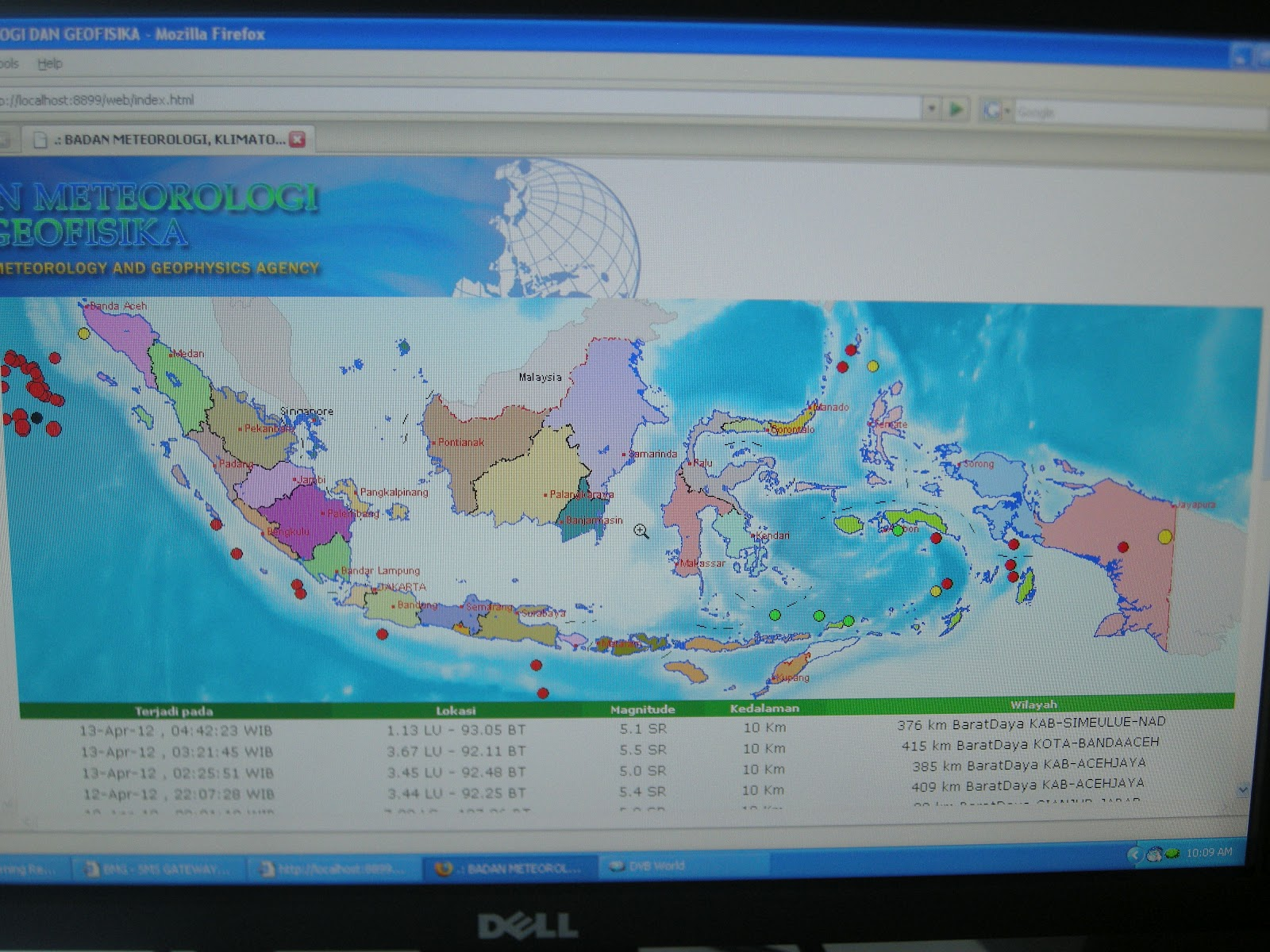 PB Kota Sukabumi Dilengkapi Alat Sistem Informasi Bencana