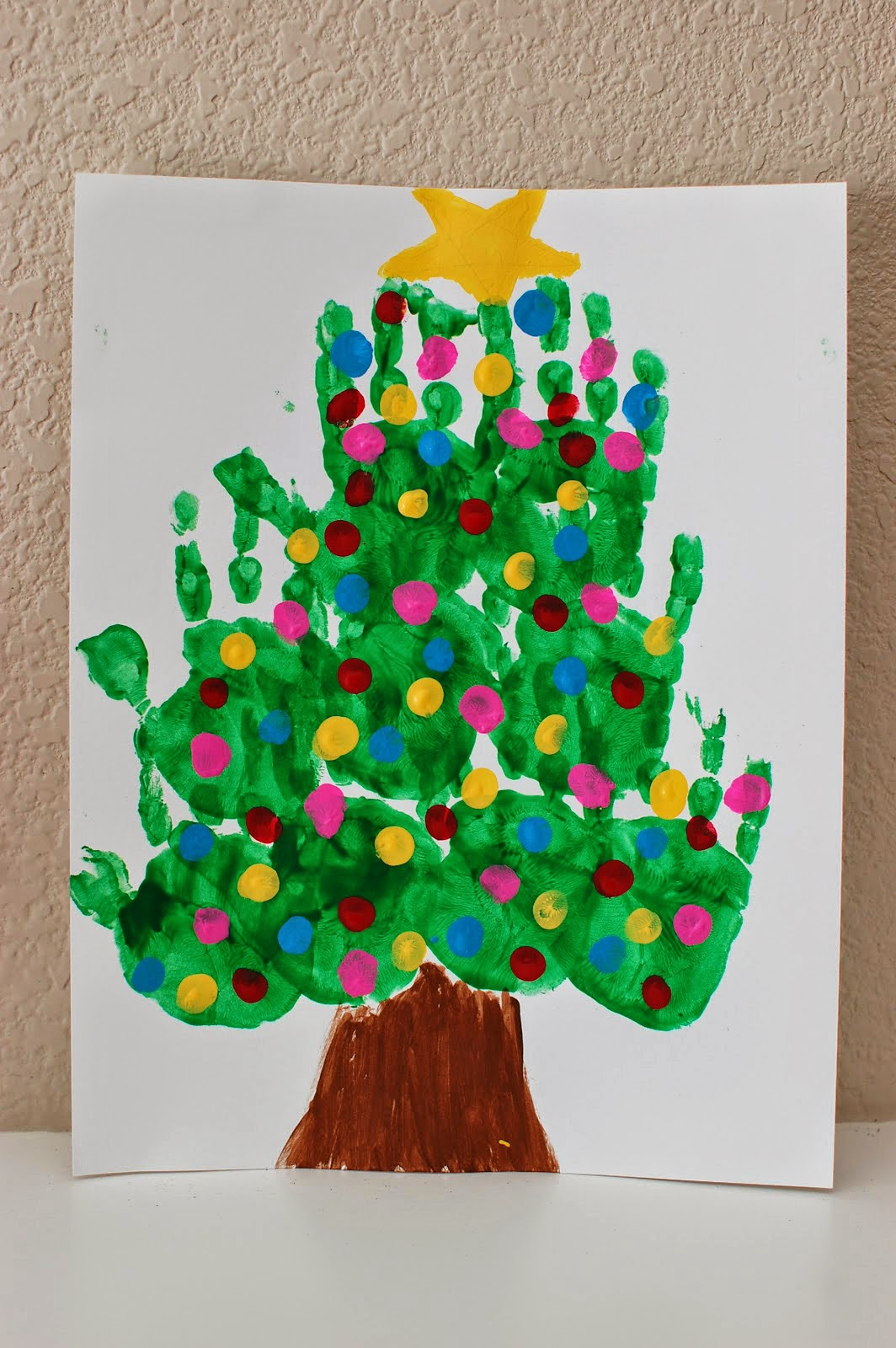 Art Craft Ideas 20 Of The Cutest Christmas Handprint Crafts For Kids
