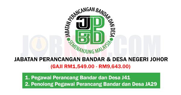 Jabatan Perancangan Bandar dan Desa Negeri Johor