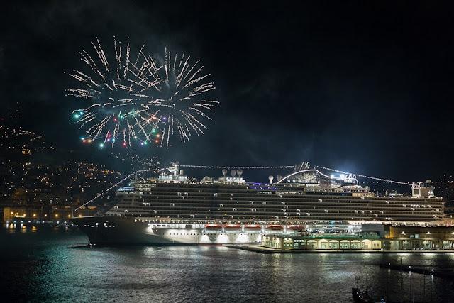 Ano-novo em cruzeiros por Miami