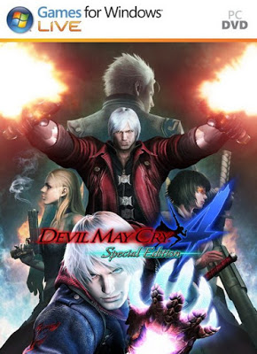 Devil May Cry 4 + DLC Download HIghly Compressed PC Game - Download