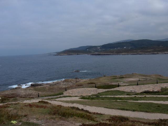 Vistas desde el faro de San Cibrao