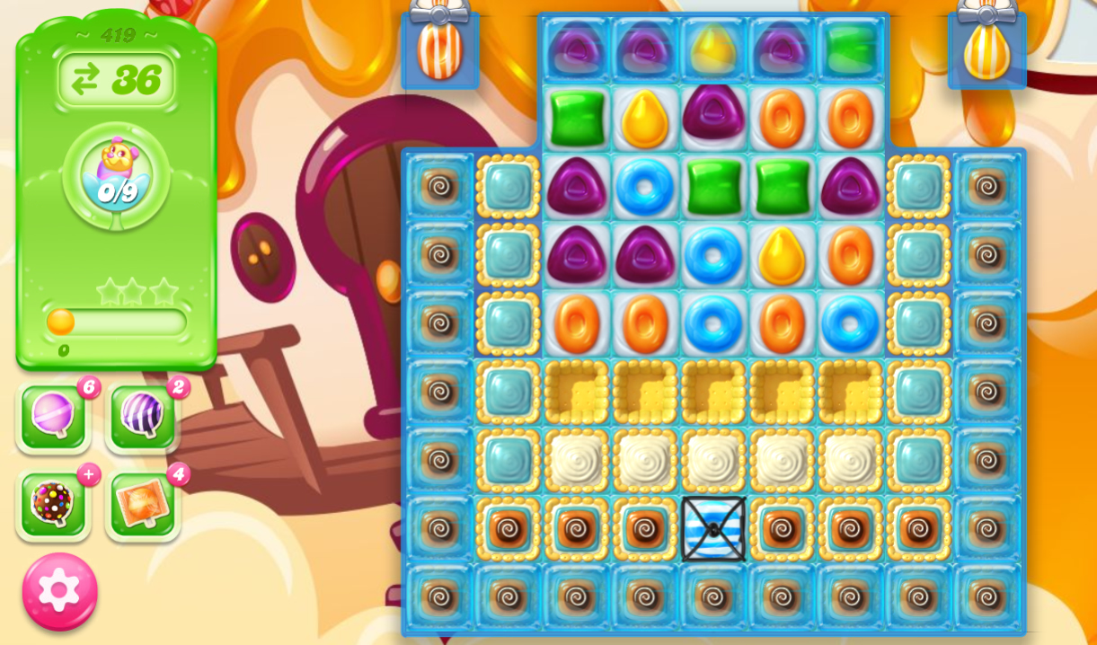 Candy Crush Jelly Saga 419