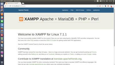 Cara Mengatasi Apache XAMPP Yang Tidak Dapat Running Di Linux Ubuntu