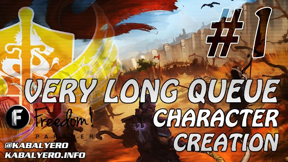 Das Tal Gameplay #1 (Alpha Test) ★ Character Creation & Waiting In Queue Or Waiting In Limbo