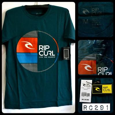 Kaos Distro Surfing Skate RIP CURL Premium Kode RC291