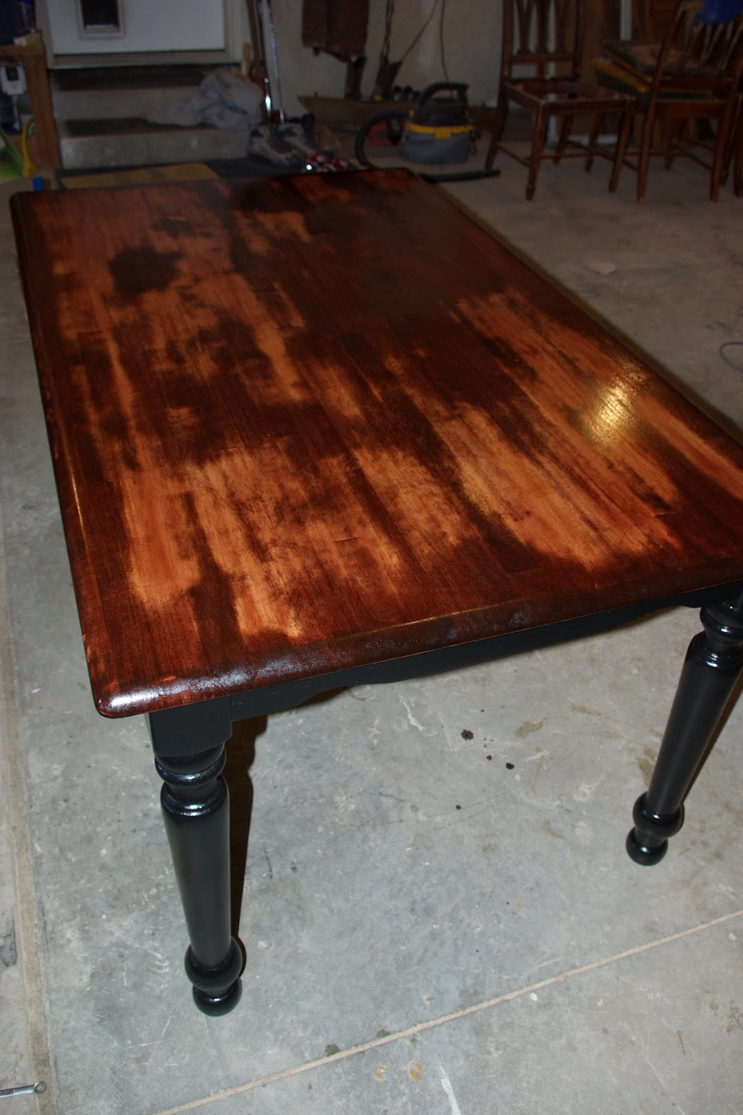 Kitchen Table: Reclaimed Rustics: Distressed Kitchen Table