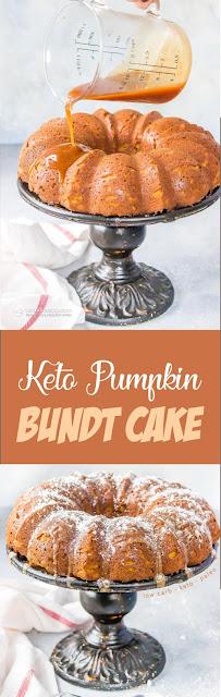 Keto Pumpkin Bundt Cake