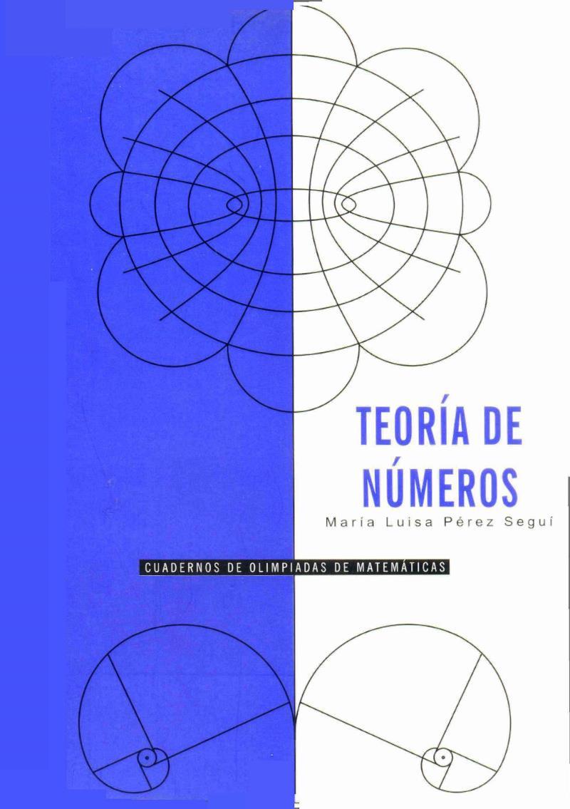 Teoría de números – María Luisa Pérez Seguí