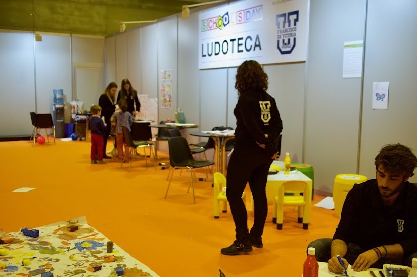Ludoteca en Schools Day