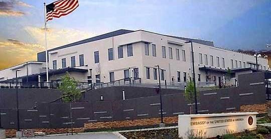 US Embassy vehicle scare was false alarm, Interior Ministry says