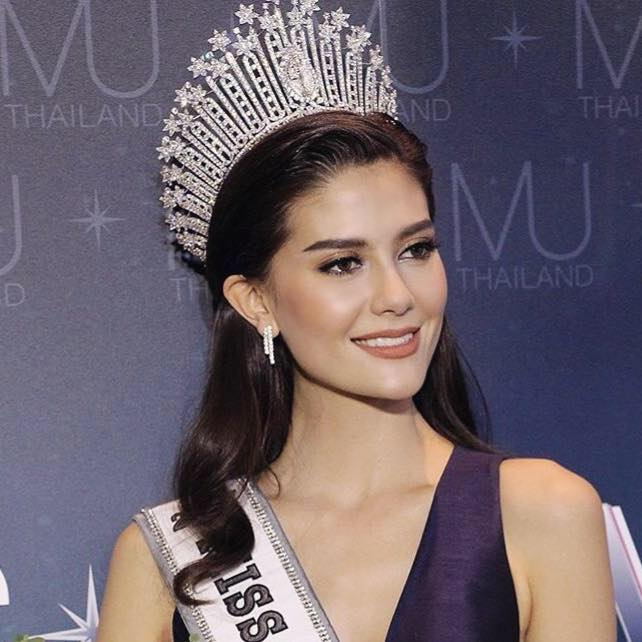 Who Won Miss Universe 2018 >> SASHES AND TIARAS.....Miss Universe Thailand 2017 is Maria Poonlertlarp Ehren | Nick Verreos