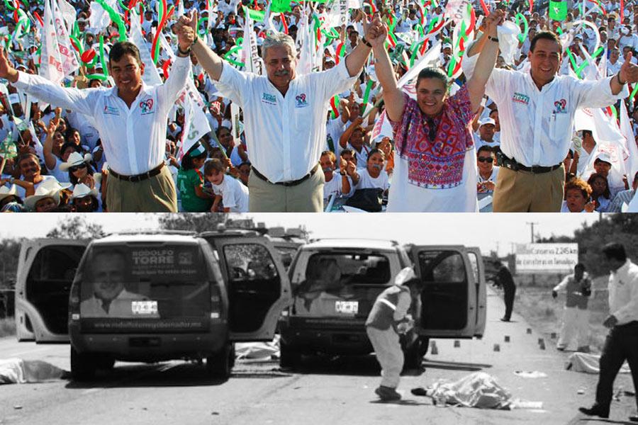 Se cumplieron 8 años de que el PRI mandó a ejecutar a su candidato PRIISTA, Rodolfo Torre Cantú