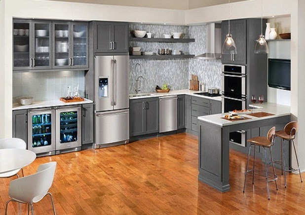 Gray Kitchen Cabinets picture