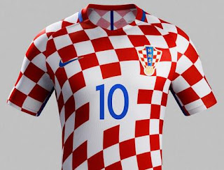 Jersey Kroasia Euro 2016 Home