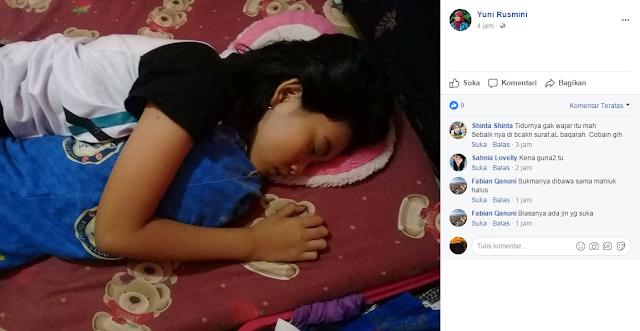 Sempat Terbangun di Hari ke-13, Gadis Kecil Tertidur Kembali