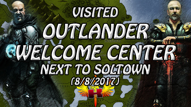Shroud Of The Avatar Town Check 🏠 Visited Outlander Welcome Center Next To Soltown (8/8/2017)