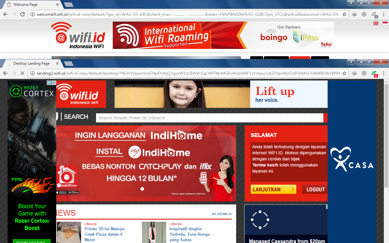 TRIK LOGIN WIFI ID INDIHOME ~ BLOG INTERNET