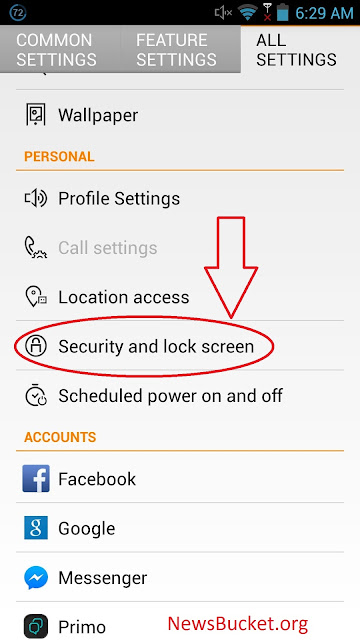 security-and-lock-screen