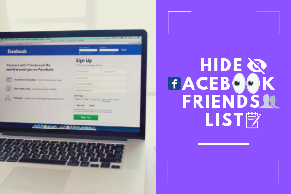 How Can Hide My Friend List In Facebook<br/>
