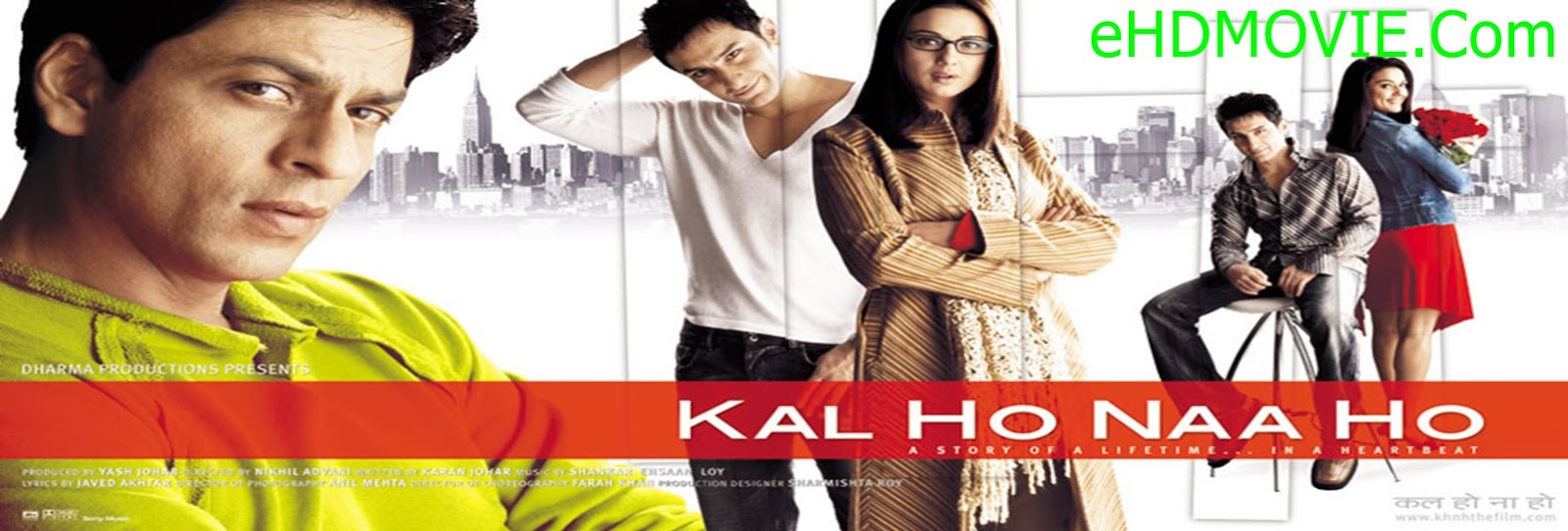 Kal Ho Naa Ho 2003 Full Movie Hindi 720p - HEVC ORG BRRip 700MB - 1.4GB ESubs Free Download