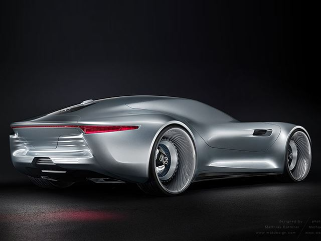 Is This The Figure Of Mercedes Benz Future Car