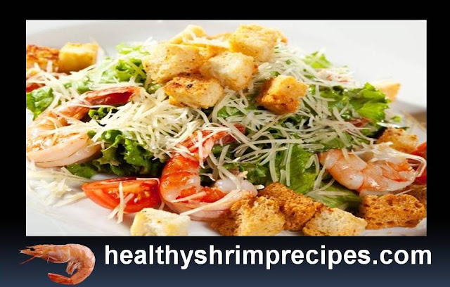 Caesar Salad With Healthy Shrimps Recipes