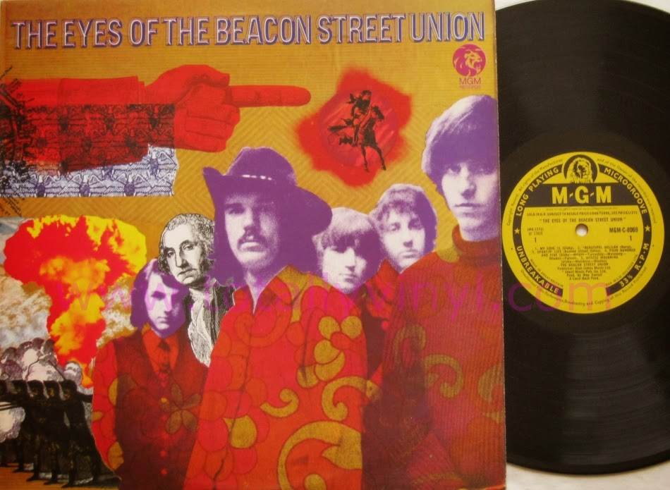 Eyes of the Beacon Street Union LP 1968