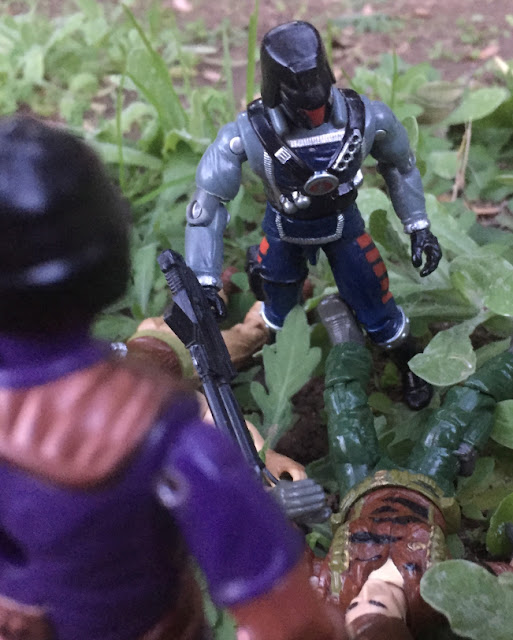 1991 Interrogator, 1994 Techno Viper, Star Brigade, 1988 Tiger Force Flint