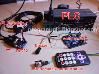 Hardware for IR Remote Control - PLC - Arduino
