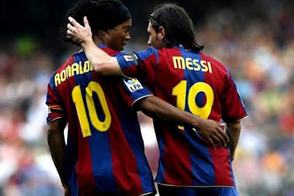 Lionel Messi Tetap Menjadi Pemain Terbaik Berdasarkan Ronaldhino