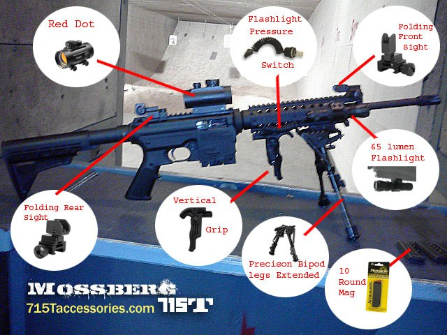 Images for mossberg 715t accessories - mossberg 715t accessories