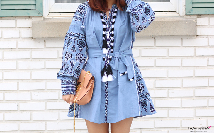 One by Stylekeepers Bohemian Embroidered Dress #OOTD