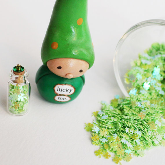 Bea's Wees St. Patrick's Day Gnome