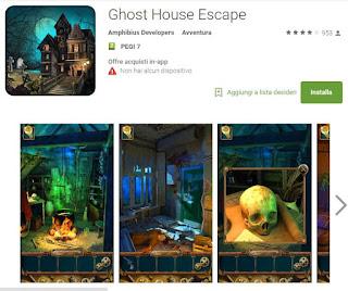 Soluzioni Ghost House Escape di tutti i livelli