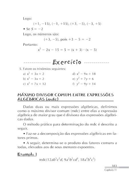 mdc exercicios