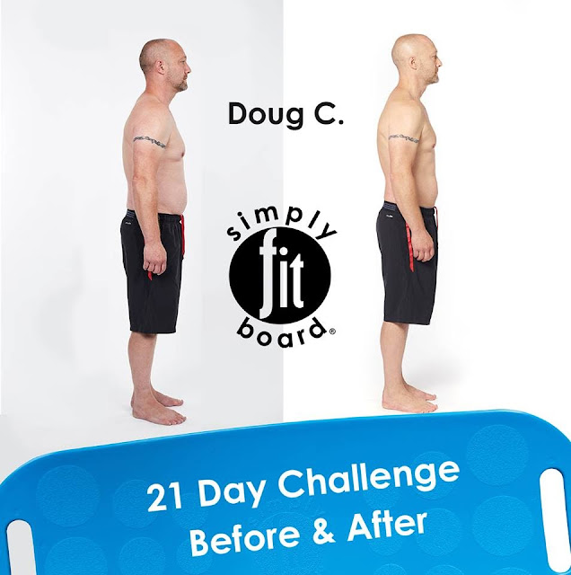 Simply Fit Board work out