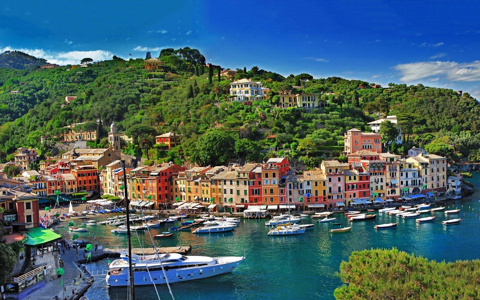 Portofino Italy Beautiful Coastal Village