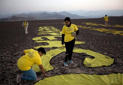 Greenpeace, Daño contra el patrimonio, Atentado patrimonio cultural Peru,