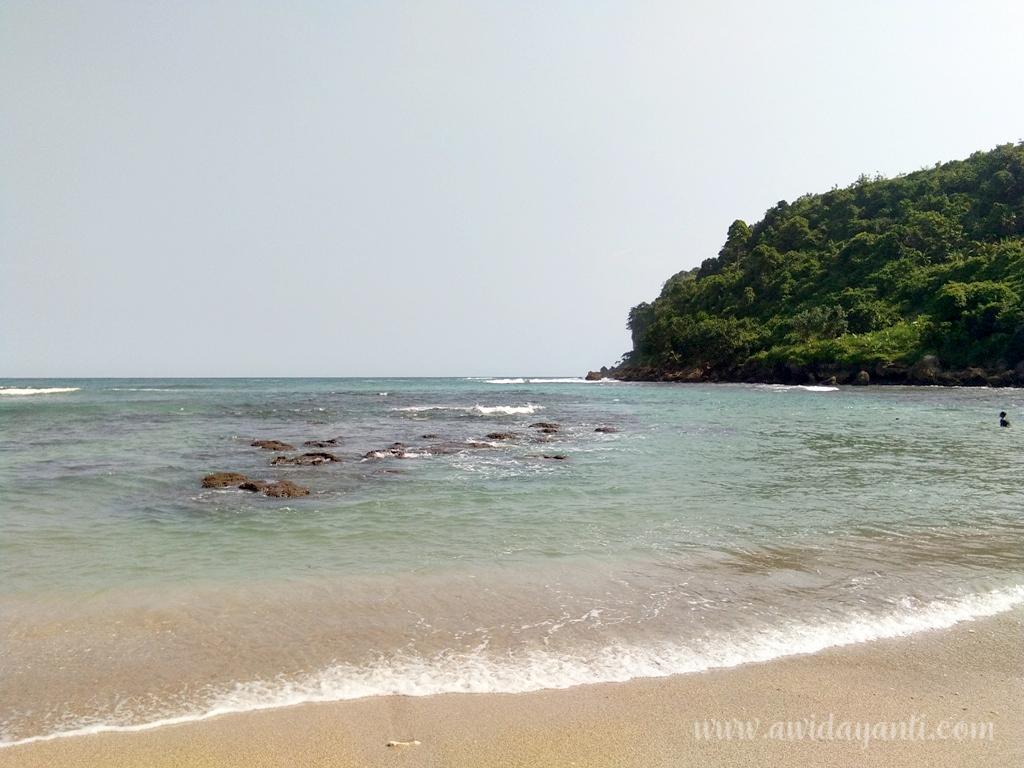 Pantai Pangi Surut