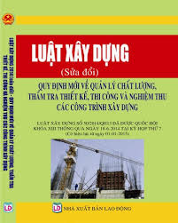 Luật xây dựng 2015