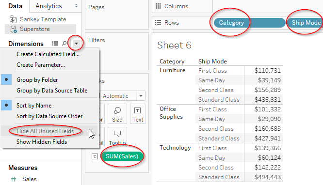 Creating Sankey Chart as Easy as 1-2-3 in Tableau | Vizible Difference