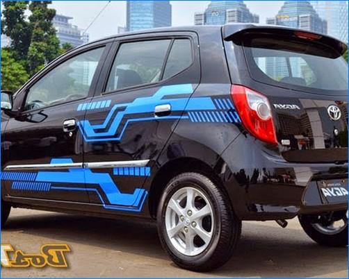 Modifikasi mobil agya terbaru trd tipe g warna merah
