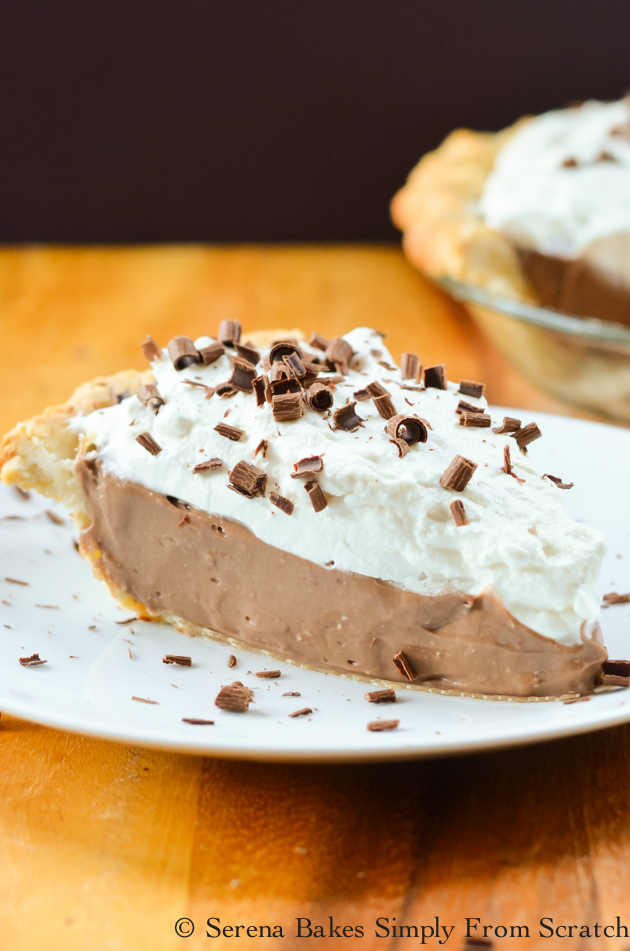 Chocolate Pudding Cheesecake recipe is no bake cheesecake meets chocolate pudding is the perfect dessert for Easter, Thanksgiving or Christmas from Serena Bakes Simply From Scratch.