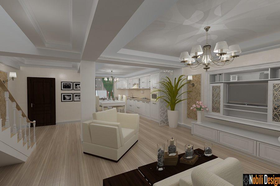 Amenajari interioare case vile Bucuresti - Design Interior-Amenajari Interioare-case clasice