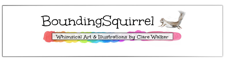 BoundingSquirrel-Whimsical Art and Illustrations